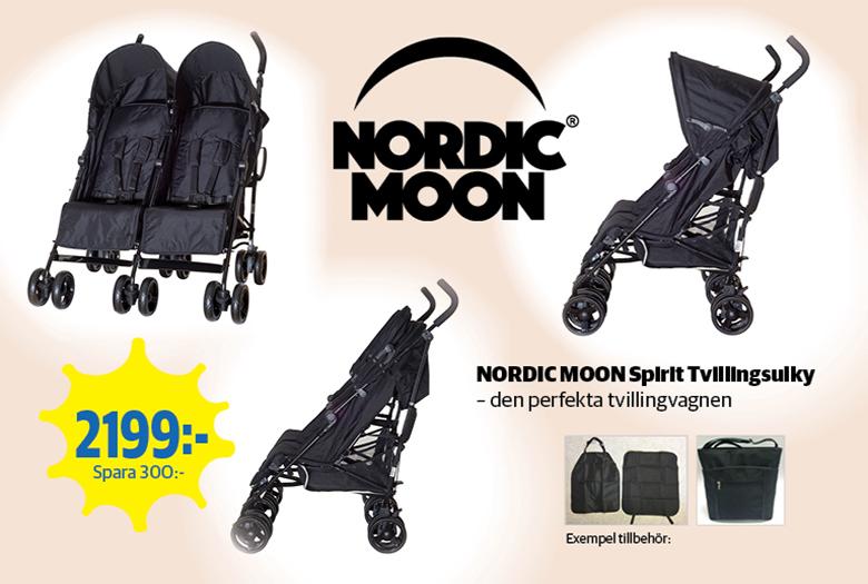 Sommarpris Nordic Moon Spirit Tvillingsulky