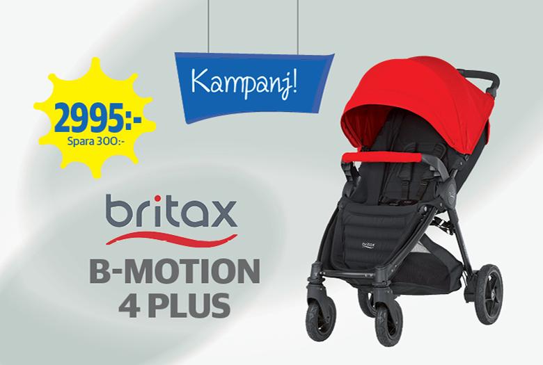 Sommarkampanj på Britax B-Motion 4 Plus!