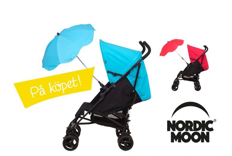 Gratis parasoll när du köper Sulky L